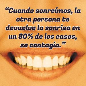 Si sonríes desarmas al subconsciente