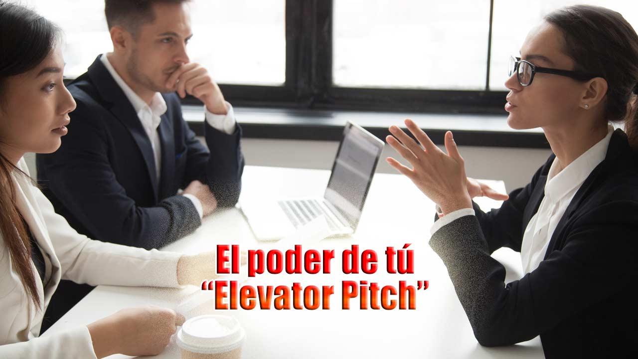 El poder de tu elevator pitch